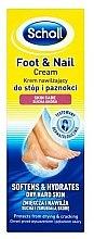 Парфюмерия и Козметика Крем за крака - Scholl Moisturizing Foot and Nail Cream