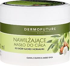 Парфюмерия и Козметика Хидратиращо масло за тяло за суха и нормална кожа - DermoFuture