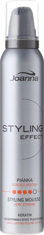 Моделираща пяна за коса със силна фиксация - Joanna Styling Effect Styling Mousse Strong