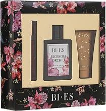 Парфюмерия и Козметика Bi-Es Blossom Orchid - Комплект (парф. вода/100ml + душ гел/50ml + парфюм/12ml)