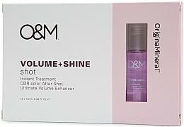 Парфюмерия и Козметика Серум за коса за блясък и обем - Original & Mineral Volume + Shine Instant Shot Treatment
