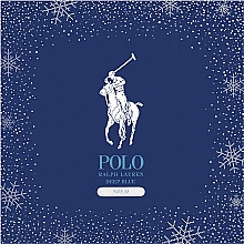Парфюмерия и Козметика Ralph Lauren Polo Deep Blue Holiday Gift Set - Комплект (парфюм/125ml + парфюм/40ml)