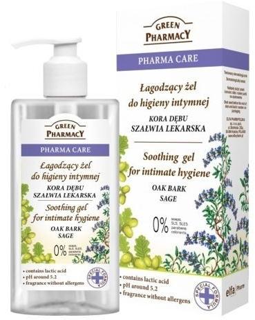 Успокояващ гел за интимна хигиена - градински чай Green Pharmacy Soothing Gel
