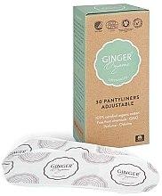 Парфюмерия и Козметика Ежедневни еластични превръзки, 30 бр. - Ginger Organic