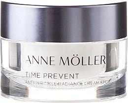 Парфюми, Парфюмерия, козметика Крем за лице - Anne Moller Time Prevent Antiwrinkle Radiance Cream SPF15 (мини)