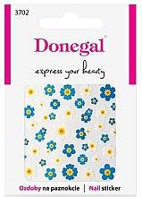 Парфюмерия и Козметика Декориращи лепенки за нокти, 3702 - Donegal
