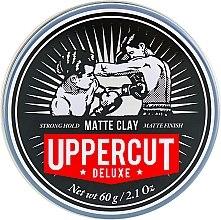 Парфюмерия и Козметика Глина за оформяне на коса - Uppercut Deluxe Matt Clay