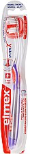 Парфюми, Парфюмерия, козметика Четка за зъби, лилава - Elmex Toothbrush Caries Protection InterX Soft Short Head
