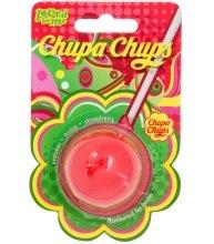 "Парфюми, Парфюмерия, козметика Балсам за устни ""Strawberry"" - Lip Smacker Lip Balm Chupa Chups Strawberry"