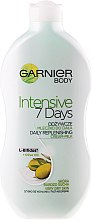 "Парфюми, Парфюмерия, козметика Мляко за тяло ""Маслина"" - Garnier Body Hydration 7 Days Body Milk"