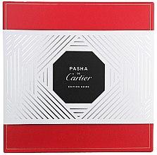 Cartier Pasha de Cartier Edition Noire - Комплект (тоал. вода/100ml + душ гел/100ml) — снимка N2
