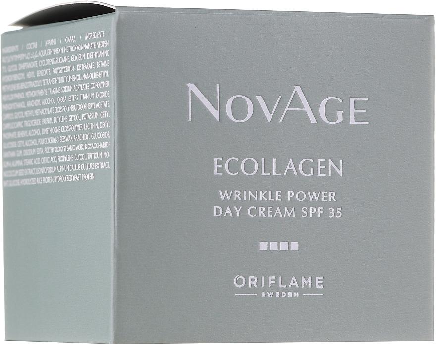 Дневен крем за лице против бръчки SPF 35 - Oriflame NovAge..