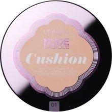 Парфюми, Парфюмерия, козметика Кушон фон дьо тен - L'Oreal Paris Nude Magique Cushion Foundation SPF29