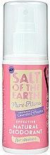 Парфюмерия и Козметика Натурален спрей-дезодорант - Salt of the Earth Pure Aura Natural Deodorant Spray