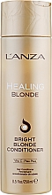 Парфюмерия и Козметика Лечебен балсам за естествено руса и изсветлена коса - L'anza Healing Blonde Bright Blonde Conditioner