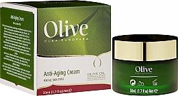 Парфюмерия и Козметика Антистареещ крем за лице за всеки тип кожа - Frulatte Olive Anti-Aging Cream