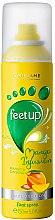 Парфюмерия и Козметика Освежаващ дезодорант за крака с аромат на манго и женшен - Oriflame Feet Up