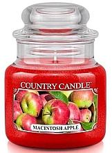 Парфюмерия и Козметика Ароматна свещ в бурканче - Country Candle Macintosh Apple