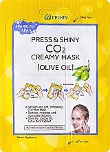 """Парфюми, Парфюмерия, козметика Маска за лице """"Маслина"""" - Celkin Press & Shiny Creamy CO2 Mask"""