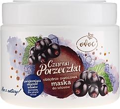 Маска за коса с екстракт от черен касис, копринен протеин и масло от шеа - Ovoc Czarna Porzeczka Mask — снимка N2