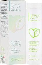 Парфюмерия и Козметика Деликатна почистваща емулсия за лице с матиращ ефект - Bema Cosmetici Bema Love Bio Gentle Mattifying Cleanser