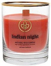 Парфюмерия и Козметика Ароматна свещ в чаша, 8х9.5см - Artman Indian Night
