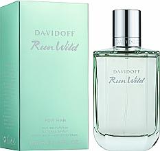 Парфюмерия и Козметика Davidoff Run Wild For Her - Парфюмна вода