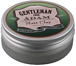 Парфюми, Парфюмерия, козметика Глинена помада за коса с матиращ ефект - Gentleman Adam Matt Clay