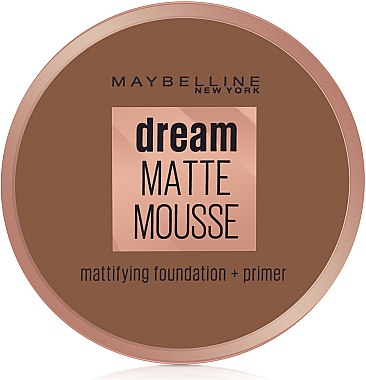 Мус фон дьо тен - Maybelline Dream Matte Mousse Foundation — снимка N1