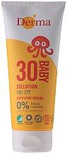 Парфюми, Парфюмерия, козметика Детски слънцезащитен крем - Derma Sun Baby Sollotion SPF30