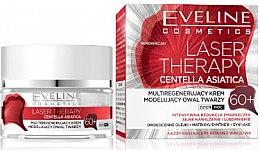 Парфюми, Парфюмерия, козметика Крем за лице 60+ - Eveline Cosmetics Laser Therapy Centella Asiatica 60+
