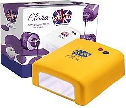 """Парфюмерия и Козметика UV лампа за маникюр """"Clara"""", жълта - Ronney Professional UV 36W (GY-UV-818)"""
