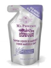 """Парфюми, Парфюмерия, козметика Течен марсилски сапун в икономична опаковка """"Лавандула"""" - Ma Provence Liquid Marseille Soap Lavender"""