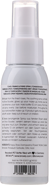 Спрей за лице - Browly Face Spritz Spray — снимка N2
