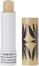 Парфюмерия и Козметика Балсам за устни с екстракт от алое - Korres Lip Balm Extra Care Aloe Stick