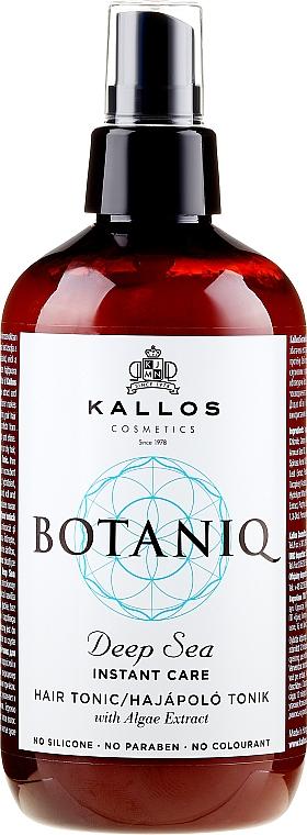 Спрей-тоник с моментално действие за коса - Kallos Cosmetics Botaniq Deep Sea Instant Care Hair Tonic
