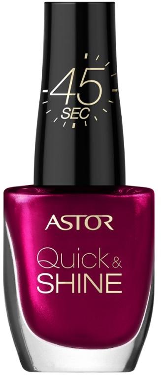 Лак за нокти - Astor Quick and Shine Nail Polish