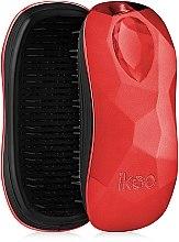 Парфюмерия и Козметика Четка за коса - Ikoo Home Black Dragon Lady Red