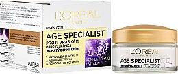 Парфюми, Парфюмерия, козметика Дневен крем против бръчки - L'Oreal Paris Age Specialist 55+
