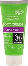 Парфюмерия и Козметика Крем за крака - Urtekram Aloe Vera Foot Cream