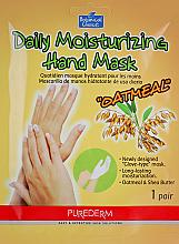 Парфюмерия и Козметика Маска-ръкавици - Purederm Daily Moisturizing Hand Mask Oatmel