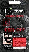 Парфюми, Парфюмерия, козметика Почистваща маска с въглен - Bielenda Carbo Detox Peel-Off Purifying Charcoal Mask
