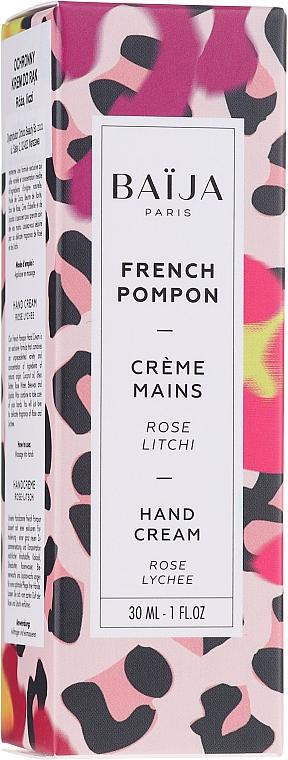 Крем за ръце - Baija French Pompon Hand Cream — снимка N2
