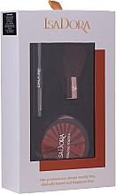 Парфюмерия и Козметика Комплект - IsaDora Bronzing Travel Kit (бронзант/3.8g + спирала/3ml + четка/1бр)