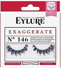 Парфюмерия и Козметика Изкуствени мигли №146 - Eylure Pre-Glued Exagerrate