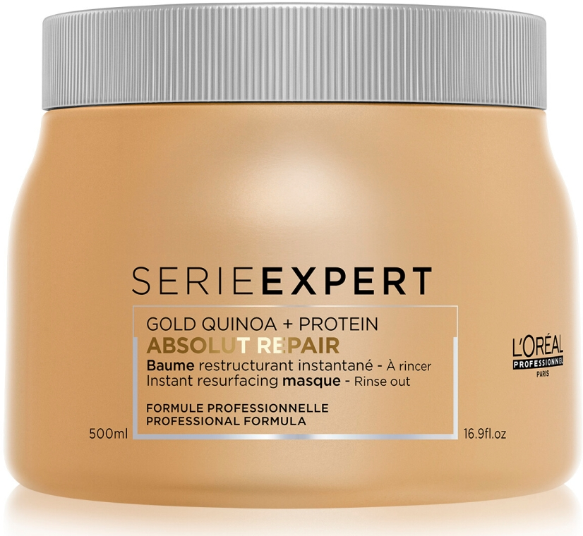 Възстановяваща маска за коса - L'Oreal Professionnel Absolut Repair Gold Quinoa +Protein Mask