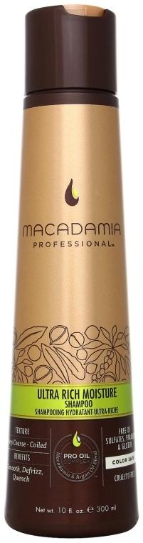 Шампоан за гъста и плътна коса - Macadamia Natural Oil Ultra Rich Moisture Shampoo