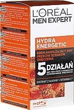 Парфюмерия и Козметика Мъжки хидратиращ лосион за лице - L'Oreal Paris Men Expert Hydra Energetic Daily Anti-Fatigue Moisturising