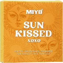 Парфюмерия и Козметика Бронзираща пудра - Miyo Sun Kissed Matt Bronzing Powder