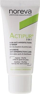Грижа за лице 3в1 при проблемна кожа - Noreva Actipur Intensive Anti-Imperfection Care 3in1 — снимка N2